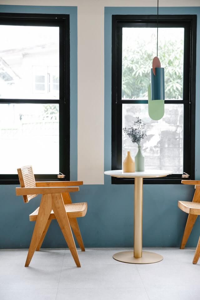 interior design ideas geometric