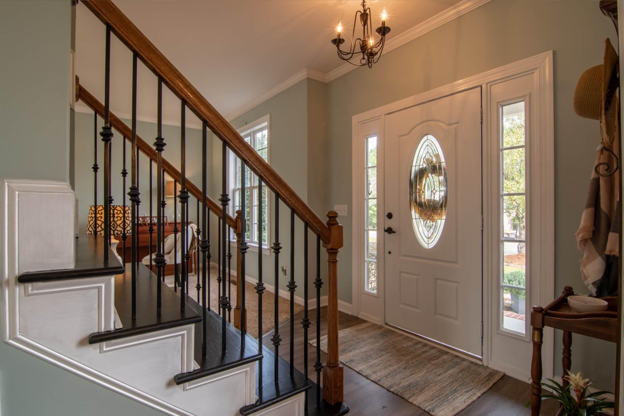 entrance with good interior design