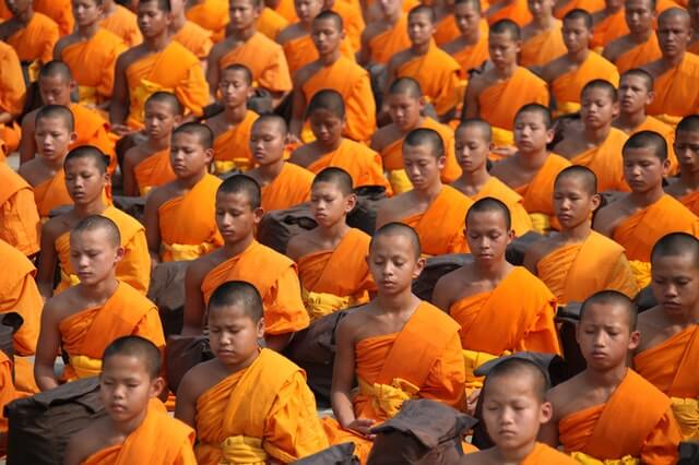 Yoga types and meditation